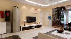 汉阳简约风格现代风格三居室