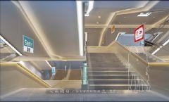 与您分享优质商场步梯设计效果图