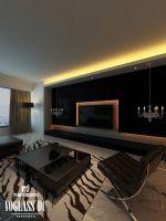 成都尚层装饰别墅装修现代风格实景案例现代风格别墅