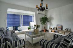 大连装修装饰公司地中海风格二居室