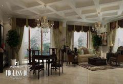 成都尚层装饰别墅装修欧式古典风格(四)欧式风格别墅
