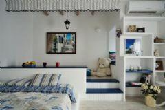 大连新房装修地中海风格二居室