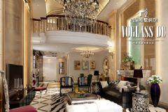 成都尚层装饰别墅装修欧式奢华风格案例欧式风格别墅