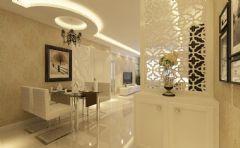中海城塞尚现代风格二居室
