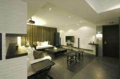120平现代简约时尚公寓
