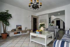 大连装修效果图地中海风格地中海风格二居室