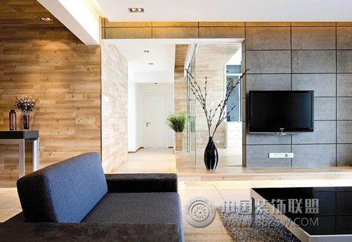 大连家装现代简约风格现代简约客厅装修图片