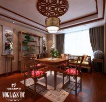 成都尚层装饰别墅装修新中式风格案例(五)中式风格别墅