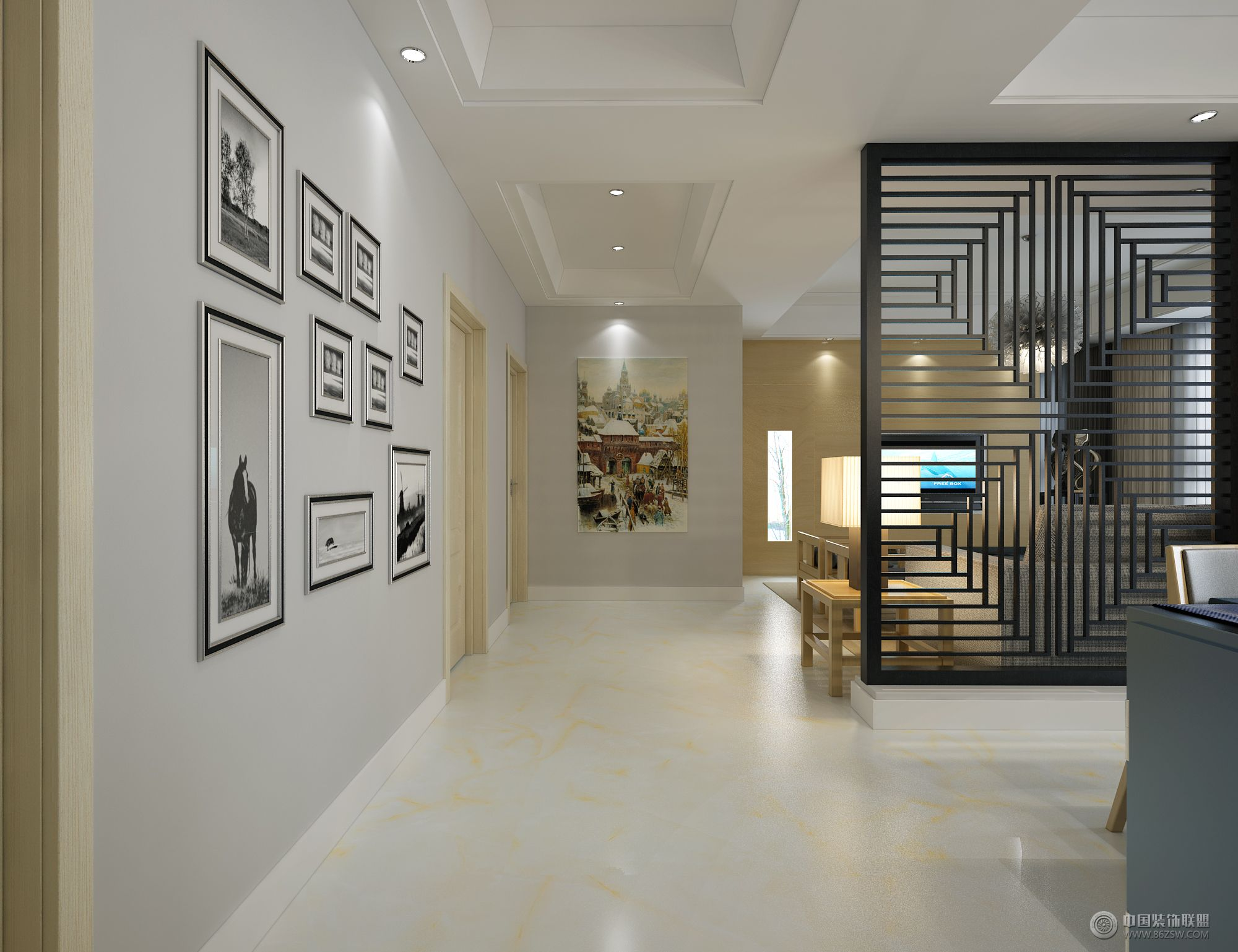 水韵天成 客厅装修效果图高清图片