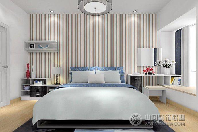 时尚大气的卧室样板间-阳台装修图片