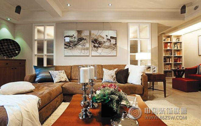 128平北欧田园精品公寓-欧式风格装修效果图-八六装饰