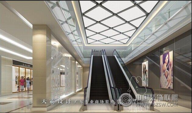 商场中庭效果图及中庭设计作用探讨 单张展示 商场装修效果图 八六