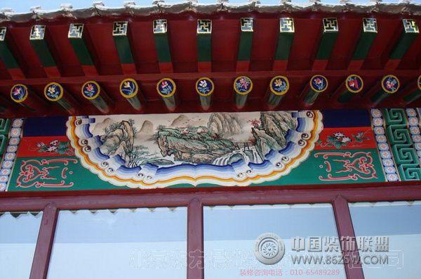 仿古四合院装修 小汤山四合院 其它装修效果图 八六 中国