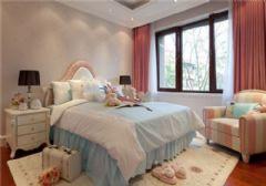 成都尚层装饰别墅装修法式宫廷风格效果图(一)古典卧室装修图片