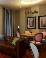 色彩丰富的爱情小屋成都尚层装饰美式风格别墅
