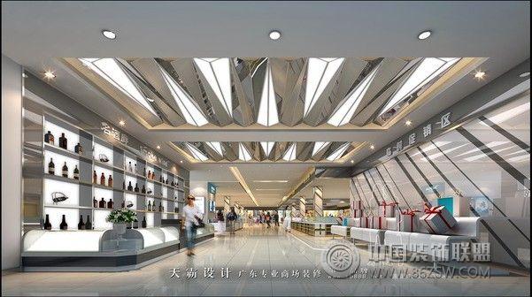 超市室内效果图 单张展示 商场装修效果图 八六 中国 装饰联高清图片