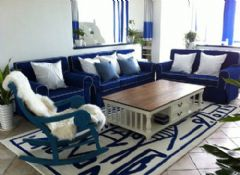 海洋地中海风格三居室