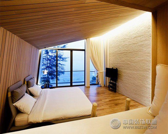 最新榻榻米卧室设计案例-阳台装修效果图-八六装饰网