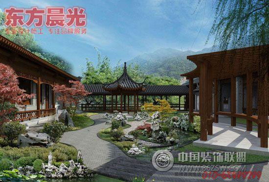 北京传统四合院别墅装修设计