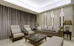 塔子山一号现代风格三居室