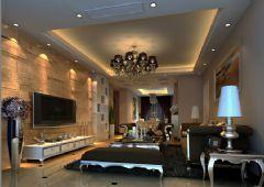 龙城一号欧式风格三居室