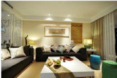 观岭8号-现代简约风格-80平米二居室现代简约风格小户型