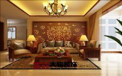 中式风格家装设计装修中式风格三居室