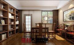 郑州复式楼装修新中式风格设计中式风格复式