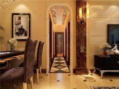 成都尚层装饰别墅装修欧美风格装修案例效果图(三)欧式风格别墅