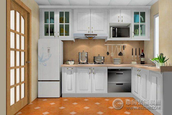 创意设计 厨房 客厅装修效果图