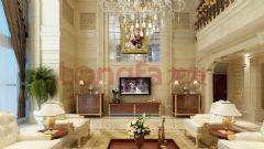 龙发320平米别墅装修彰显奢华品质