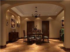 成都尚層裝飾別墅裝修歐美風格案例效果圖(七)美式風格別墅