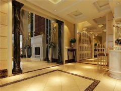 成都尚层装饰别墅装修欧美风格案例效果图(八)欧式风格别墅