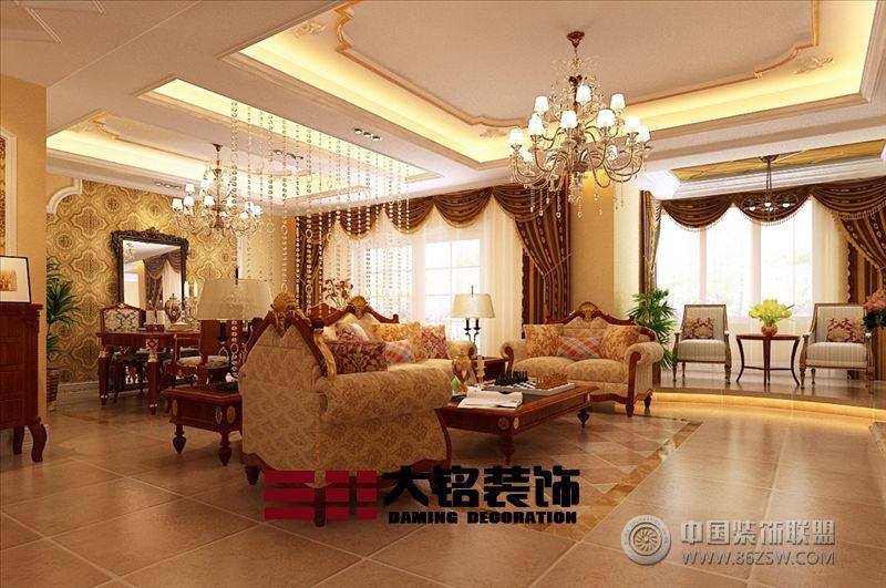 家装设计 客厅装修效果图 八六 中国 装饰联盟装修效果图库