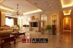 奢华欧式风格家装设计欧式风格三居室
