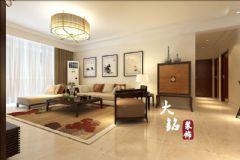 新中式设计风格装修工程中式风格四居室