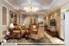 欧式风格大户型装修案例欧式风格三居室