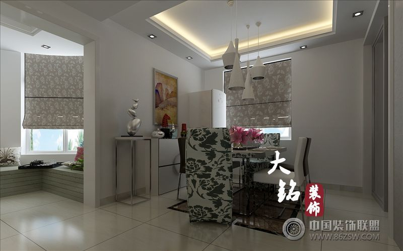 现代简约设计风格装修 客厅装修图片