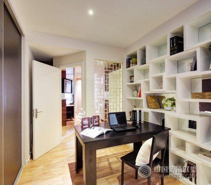 书房家居装修图 40种实用设计让爱家书房温馨又时尚