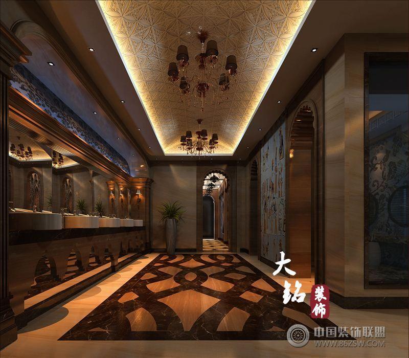 洗浴中心洗浴酒店装修设计_酒店装修效果图_八六(中国