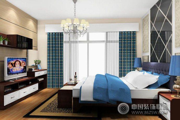 时尚大气卧室设计方案现代卧室装修图片