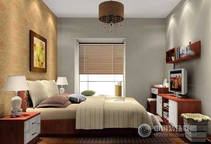 时尚大气卧室设计方案-卧室装修图片