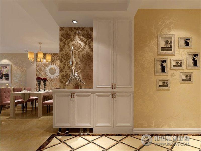 别墅装修欧美风格案例效果图 十五 美式玄关装修图片