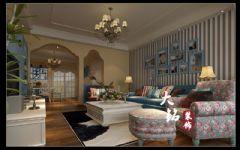 地中海风格设计装修工程地中海风格三居室