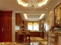 成都尚层装饰别墅装修欧美风格案例欣赏(十七)欧式风格复式