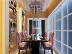 成都尚层装饰别墅装修欧美风格案例效果图(十八)美式风格别墅