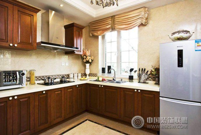 新中式厨房设计方案 餐厅装修效果图