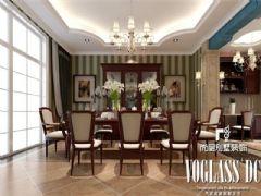 成都尚层装饰别墅装修欧美风格案例效果图(十九)美式风格别墅