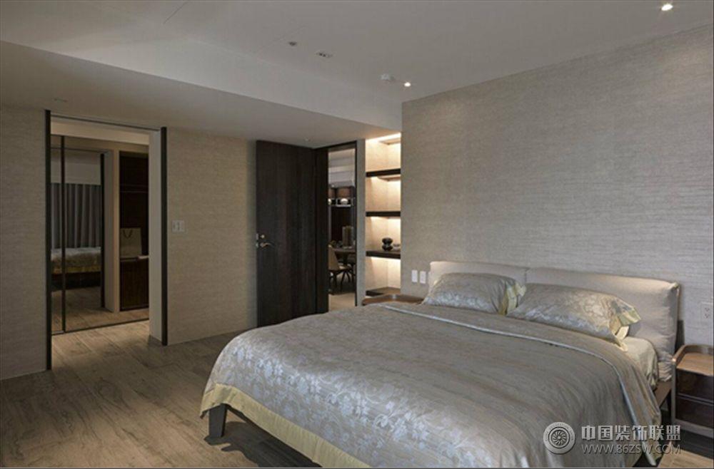 icc灰色空间现代卧室装修图片