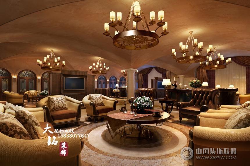 项目名称:红酒会所 建筑面积:1200